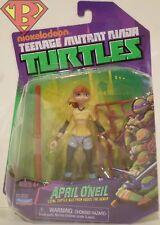 """APRIL O'NEIL Teenage Mutant Ninja Turtles Cartoon Series 4"""" Action Figure 2013"""