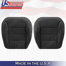 For 2012 to 2015 Mercedes Benz ML350 ML 550 Bottom Perforated Leather Seat Black