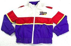 Vintage 80s Yamaha Sportswear Team Yamaha Zip Up Jacket Size Small Excellent