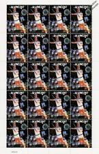 John McEnroe hoja de sellos de 20 (reproductor de campeonatos de tenis de Wimbledon)