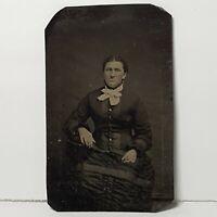Vintage Cabinet Card Female Women