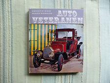 Schmid Wiesmann Auto Veteranen book 1967 retro cars Mercedes Peugeot Fiat Talbot