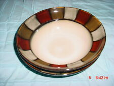 """PFALTZGRAFF  TAOS PATTERN  SOUP CEREAL 8"""" BOWLS SET OF (4) UNUSED"""