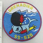 US NAVY USS GRENADIER SS-525 SUBMARINE PATCH Made for Veterans & Collectors