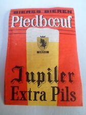 Etiquette allumette - BIERE - PIEDBOEUF - JUPILER - EXTRA PILS - Belgium - (88)