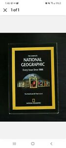 The Complete National Geographic - Every Issue since 1888 and Flash Cards