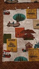 Vintage 1960's Mid Century Curtains Valances - Used in Movie $$ goes to Charity