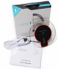 Qi Wireless Charger Charging Kit Pad For Galaxy  S6 Edge+, S6,S7,Iphone8 (White)