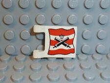 LEGO® Piraten 1x Imperial Soldiers Fahne Flagge 2x2 rot klein flag 2335pb002 K84