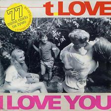 CD T.LOVE I Love You / Live