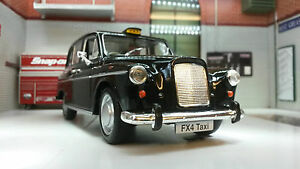 1:24 London Taxi Austin LTI FX4 Black Cab Detailed G LGB Scale Diecast Model Car