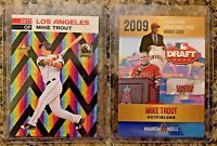 Mike Trout Angels MLB Draft Limited Edition Rookie Cards. 1 Error Card. MINT