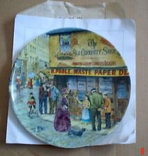 Davenport Collectors Plate THE MATCH SELLER From THE CRIES OF LONDON #2