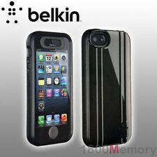 GENUINE Belkin 360 Triple Layer Protection Case fo Apple iPhone 5 5S SE Midnight