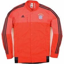Adidas Herren Jacke Jacket Trainingsjacke Gr.L Bayern München Rot 89257