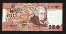 Portugal--500 Escudos Banknote--1994--CU