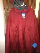 NWT MEN'S COLUMBIA SKI WINTER COAT JACKET Size 4X Bugaboo 3 in 1 Omni-Heat Tech
