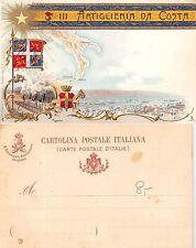 III Reggimento Artiglieria da Costa - Gaeta Taranto Messina Reggio Cal (A-L 091)