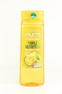 2 PACK Garnier Fructis Triple Nutrition Shampoo, Dry to Very Dry 12.5 oz U3A