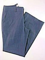 "Banana Republic Martin Fit Blue Lined Women's Dress Pants 4 29x29"""