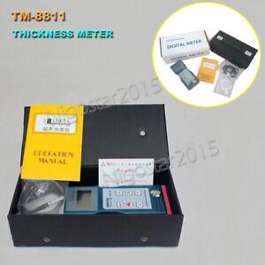 Ultrasonic Glass Thickness Measurement Meter Gauge Tester LANDTEK TM-8811