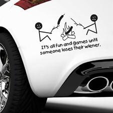 Universal Funny Camping Window Door Car Sticker Auto Truck Black Decal Decor