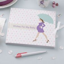 SHOWERED WITH LOVE - GUEST BOOK  - Baby Shower ,Party Supplies Tableware