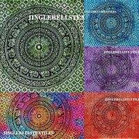 """Decor Wall Hanging Tapestry Poster Multicolor art 30X40"""" Indian Mandala Cotton"""