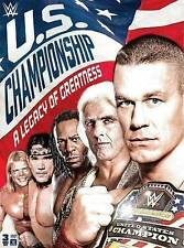 New listing WWE: The U.S. Championship - A Legacy of Greatness (DVD, 2016, 3-Disc Set) NEW