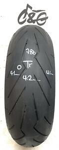 Pirelli Diablo Rosso 111   190/55zr17 75w    Part Worn Motorcycle Tyre 786