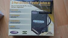 Belkin F1U125uKIT 2 Port Bitronics Parallel Switch Kit with IEEE-1284 Cable