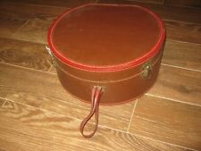Vintage Brown ??? Hat Box only good for decor