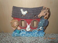 Noah's Ark switch plate cover nursery baby room