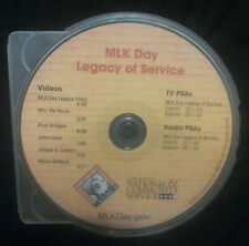 Martin Luther King Jr, MLK Day Legacy of Service Multimedia CD, New!!!