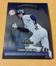 Derek Jeter 1997 Donruss Limited card #22 NY New York Yankees