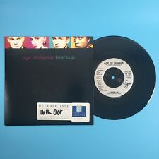"""Age Of Chance - Time's Up (1989) 7"""" Single Vinyl Record VS 1133"""