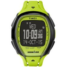 Orologio TIMEX SLEEK 150 LAP TW5M00400 TAP SCREEN Digitale Silicone Giallo Acido