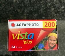 Agfa Vista 200 35 mm expired film