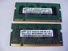 Samsung 2GB 2x1GB DDR2 800MHz 2Rx16 PC2-6400S SODIMM Laptop RAM Memory Stick