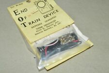 HO scale PARTS Tomar Industries EOT flashing end of train device battery powered