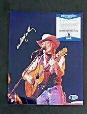 WILLIE NELSON SIGNED 8X10 COUNTRY MUSIC PHOTO BECKETT CERTIFIED #5