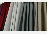 WINTER SPECIAL OFFER STATIC READY MADE BLACKOUT CARAVAN DOOR CURTAINS,BEIGE