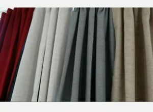 WINTER SPECIAL OFFER STATIC READY MADE BLACKOUT CARAVAN DOOR CURTAINS,GREY