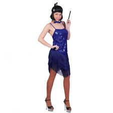 631584e4dbe6 charleston vestito blue con paillettes costume tg 40 - 42 carnevale anni 20- 30