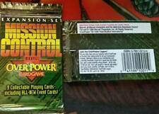Marvel OverPower Mission Control Booster Pack NEW Over Power Card  game x11