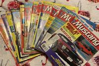 1987 Complete Year Collection Mustang Monthly Magazines Vintage Advertising Cars