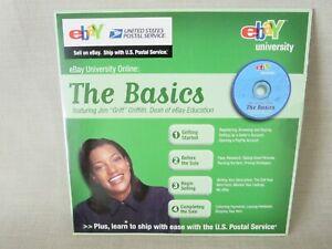 NEW RARE EBAY UNIVERSITY THE BASICS CD COMPACT DISK TRAINING HELP