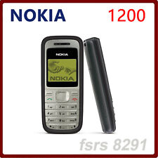 Original NOKIA 1200 Unlocked Mobile Phone Multi Languages GSM 900/1800 Version