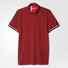 adidas Uncontrol Climachill Polo Poloshirts Xs-chill Ray Red / Black