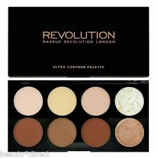 Contour Palette Makeup Revolution Ultra Contouring Sculpting Highlight Powders